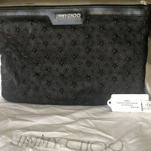 Authentic, never worn/used, Jimmy Choo clutch.